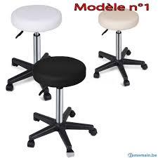 tabouret de bureau à roulettes tabouret à roulettes réglable chaise bureau en stock a