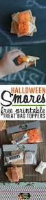 halloween toppers halloween smores free treat bag toppers