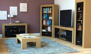 oak livingroom furniture black gloss living room furniture discoverskylark