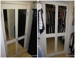 Closet Doors Diy Mirrored Closet Doors Diy And Photos Madlonsbigbear