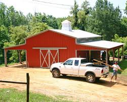 farm and agriculture garage buildings horses and tack
