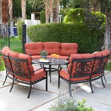 Belham Living San Miguel Cast Aluminum Sofa Conversation Set Seat