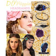 hippie flower headbands diy hippie headbands polyvore