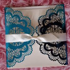 Card Factory Wedding Invitations Blue Laser Cut Invitations Wedding Card Design Party Invitations