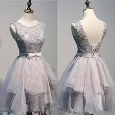 graduation dresses for back up lace gray homecoming dresses for handmade
