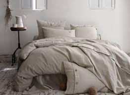 drap en satin de coton drap lit et parure de lit brodée la malle des anges