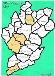 map of virginia counties counties maps of va w va