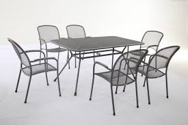 Metal Garden Table And Chairs Uk Royal Garden Carlo 6 Seater Rectangular Table Set