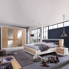 Einrichtung Schlafzimmer Rustikal Schlafzimmer Einrichtung Vronjic In Weiß Mit Eiche Wohnen De