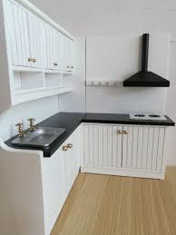 Miniature Dollhouse Kitchen Furniture Aliexpress Com Buy 1 12 New Design Cute Dollhouse Miniature