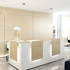 Reception Desk With Glass Display Glass Reception Desk Gray Steel Reception Desk Shell With Glass