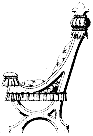 19th century historical tidbits gothic furniture design from the here are some examples of gothic furniture design from a 19th century source these are three chair designs from 1854 with some detail illustrations