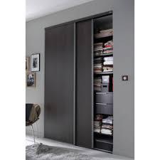 porte placard chambre porte de placard coulissante 2 vantaux porte de placard en bois