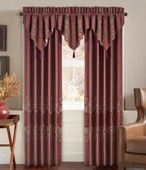 bedroom patterned valance top window treatments valances