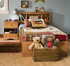 twin bed bedroom set amazon com south shore amesbury kids twin wood captain s bed 3
