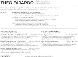 Concept Artist Resume Resume Theo Fajardo
