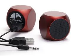 New Electronic Gadgets by Amazon Com Matrix Audio Qube Rechargeable Mini Speaker For