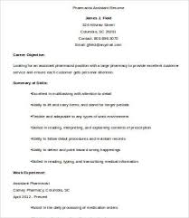 Pharmacy Resume Pharmacist Resume 9 Free Word Pdf Documents Download Free