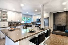 12 kitchen island modern kitchen with l shaped breakfast bar in huntington