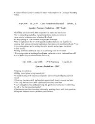 Cvs Pharmacy Resume Shannon Resume