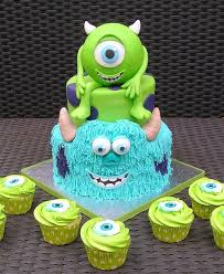monsters inc cake cupcakes u2013 cake decorating supplies cake