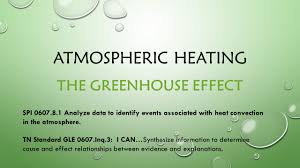 atmospheric heating the greenhouse effect spi analyze data to
