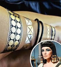 cleopatra flash tattoo halloween ideas popsugar beauty photo 9