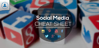 social media design cheat sheet 2017 updated infographic