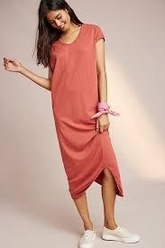 midi dress sundry asymmetrical midi dress anthropologie
