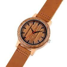 bracelet cuir montre images Montre en bois bracelet cuir pour homme kokanboi jpg