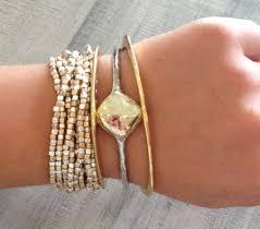 stacking bracelets trendy tuesday stacking bracelets bean ro
