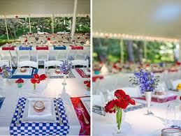 Table Centerpieces For Party by 25 Patriotic Decoration Ideas For White Red And Blue Party Table