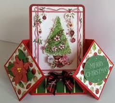 icedimages christmas double fold card