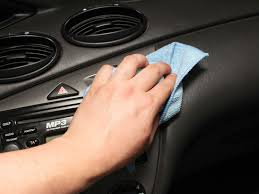 Home Products To Clean Car Interior 4 Ways To Remove Grease And Oil From A Car U0027s Interior Wikihow