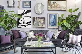 living room hardwood flooring blue sectional sofa geometric