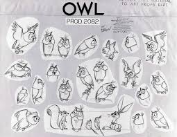 the owl in sleeping beauty was designed by kahl based on rough
