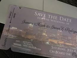 wedding invitations chicago chicago skyline wedding invitation chicagao boarding pass invitation