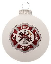 department ornament santa claus is coming to town