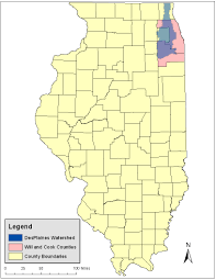 Cook County Il Map Natural Resources Damage Assessment