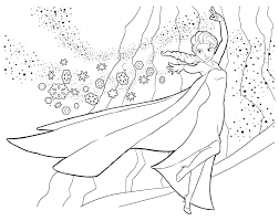 frozen coloring pictures coloring frozen the snow queen