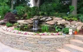 Backyard Fish Pond Ideas Garden Design Garden Design With Garden Fish Pond Designs