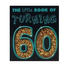 birthday gift for turning 60 the book of turning 60 novelty 60th birthday gift ebay