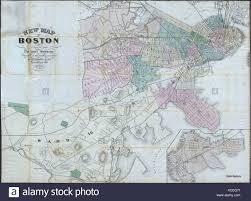 Map Of Boston Ma Antique Map Of Boston Stock Photos U0026 Antique Map Of Boston Stock