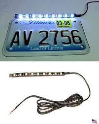 white led motorcycle light kit sleek modern white led motorcycle car license plate strip light kit