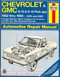 chevrolet pickup manuals at books4cars com
