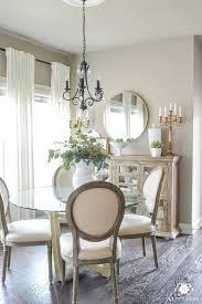 home interior mirror updated breakfast nook a lighter brighter look kelley nan