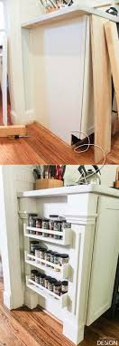 end of kitchen cabinet ideas top 26 awesome ideas to use narrow or dead space in kitchen