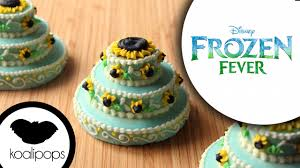 frozen fever princess anna birthday cake cookies
