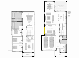floor plans for narrow lots two storey house plans narrow lot inspirational 2 storey narrow