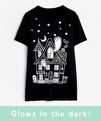 Glow In The Dark Halloween Shirts by Pusheen Haunted House Unisex Tee U2013 Hey Chickadee